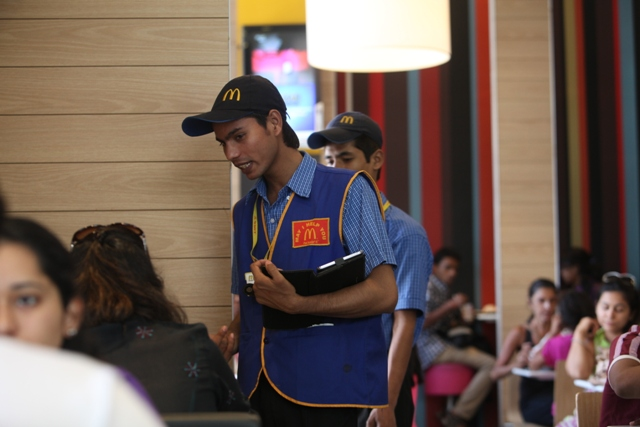 India's McDonald's Now Lets Diners Order at the Table