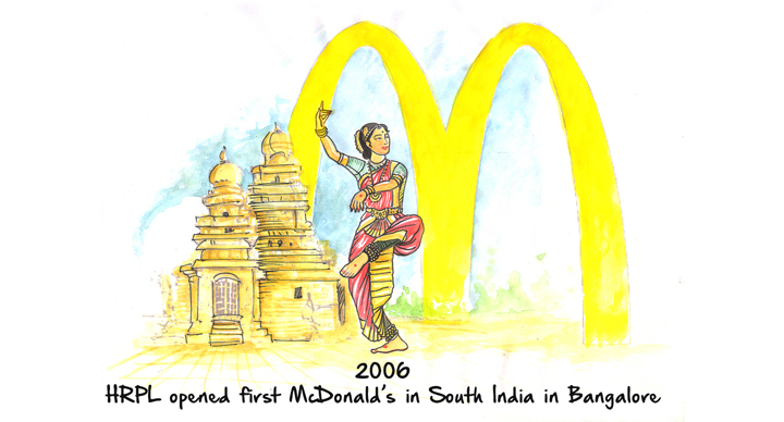 First McDonald's in South India