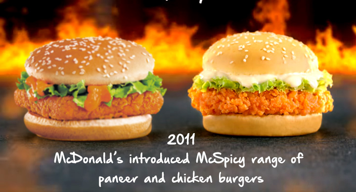 McSpicy range