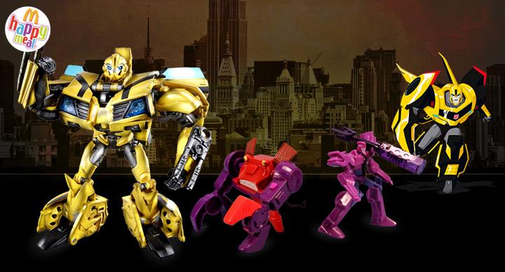 Transformers @ McDonald's