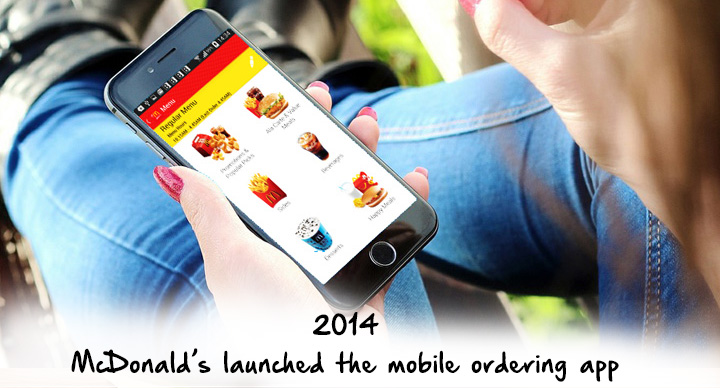 McDonald's mobile ordering app