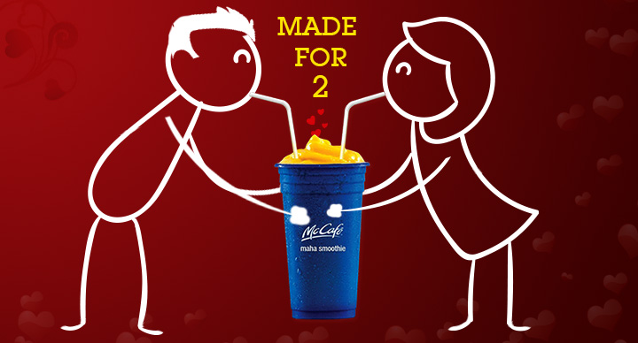McDonald's India Maha Smoothie