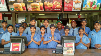 McDonald's Staff Step Up To Help A Lost Child In Hyderabad