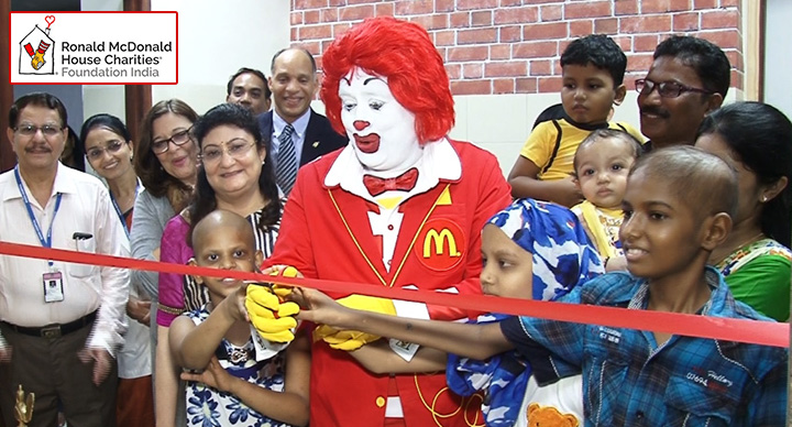 RMHC India Brings Care And Comfort To Mumbai Hospital