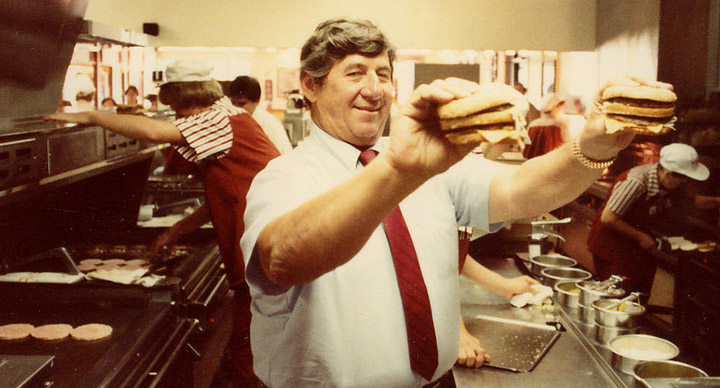 Jim Delligatti founder of Big Mac