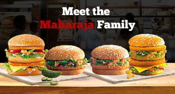 maharaja mac family