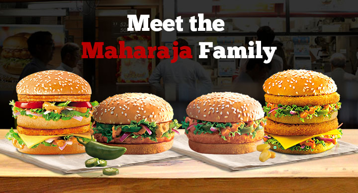 maharaja mac family
