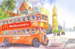 McDonalds-Bus