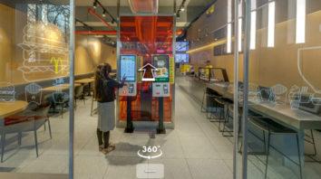Experience McDonald's Restaurant Of The Future