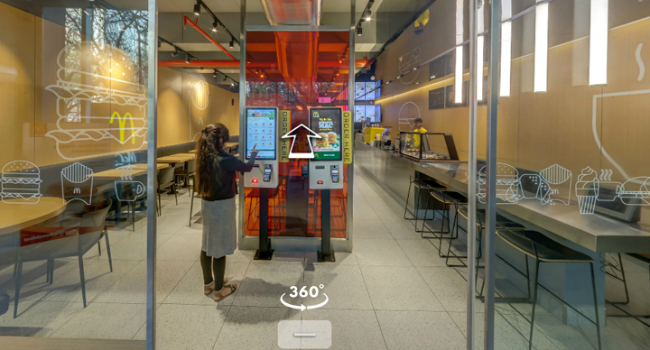 Experience McDonald's Restaurant Of The Future