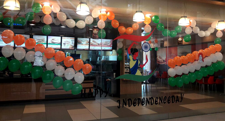 Independence Day Celebrations At Mcdonald S Mcdonald S India