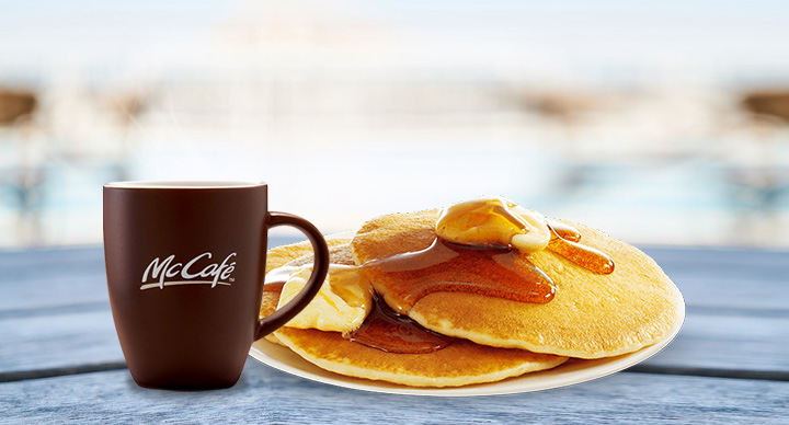 Hot cakes at McDonald's