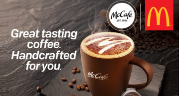McDonald's Coffee Handcrafted coffee