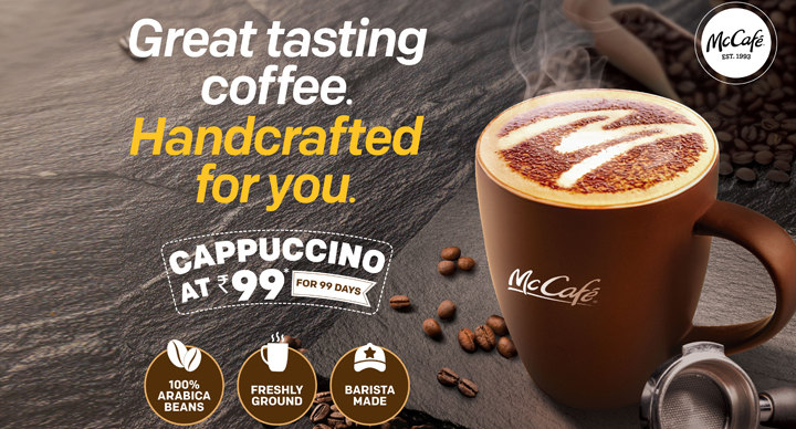 McCafé : For That Perfect, Handcrafted Coffee