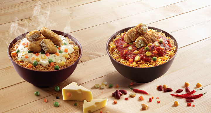 McDonald's India (West & South) Rice Bowls