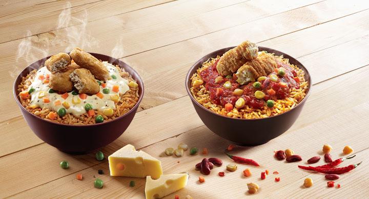 McDonald's India (West & South) Rice Bowls