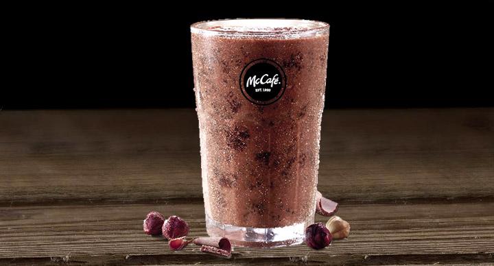 Choco hazzelnut shake