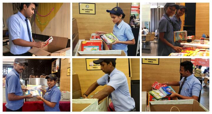 McDonald's CSR activity