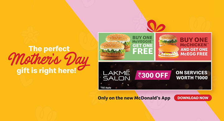 mcdonalds india mother's day