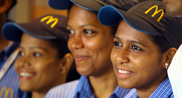 Women_power @ McDonald's