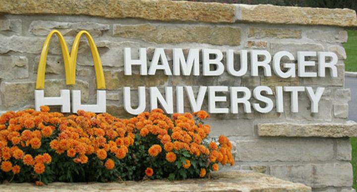 Honorary degree in Hamburgerology