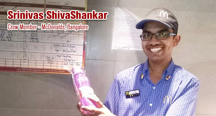 McDonald's Crew Member - Srinivas