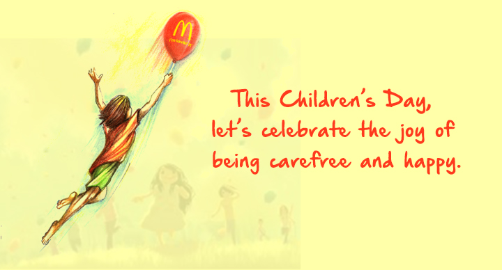 Children's Day at McDonald's