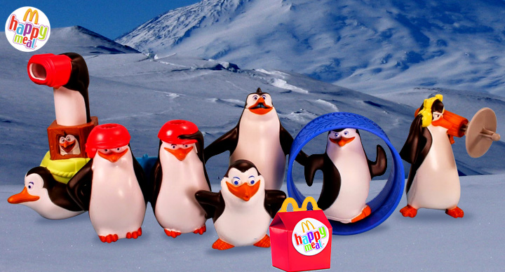 Madagascar Penguins @ McDonald's