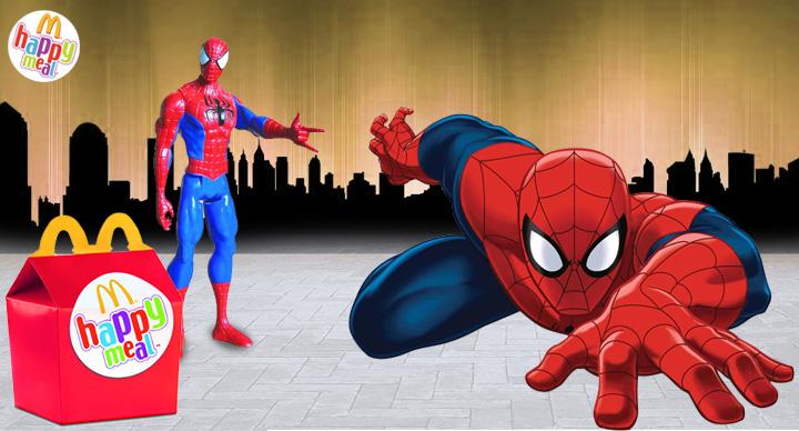 Spiderman @ McDonald's