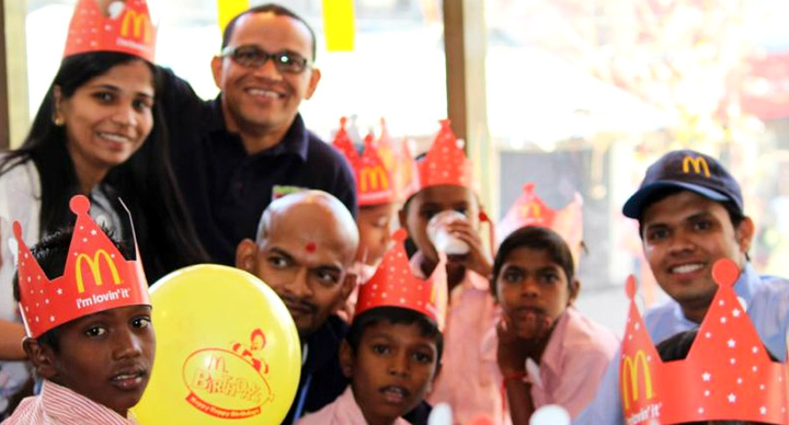 Adhar_Foundation @McDonald's India