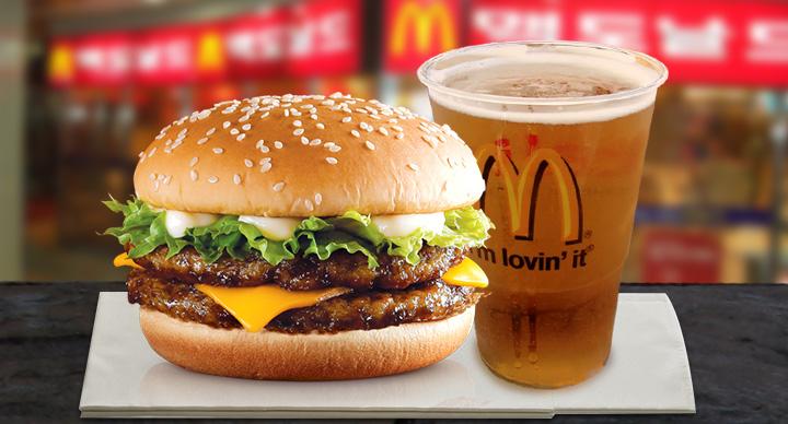 McDonald's Burger and Beer