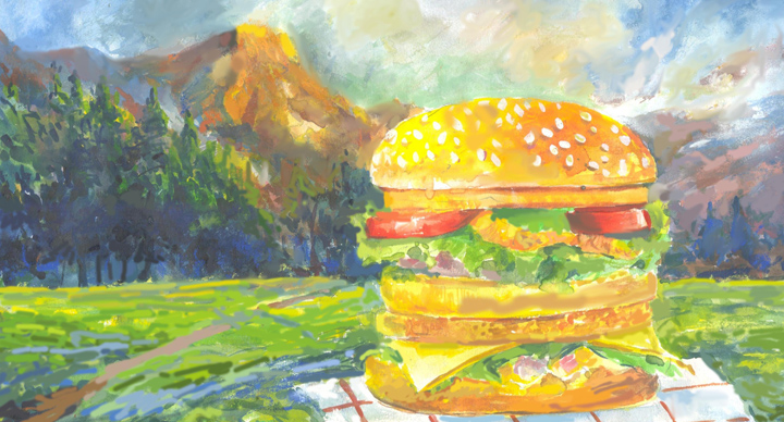 burger art1_mcdonalds