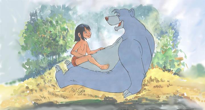 mowgli baloo