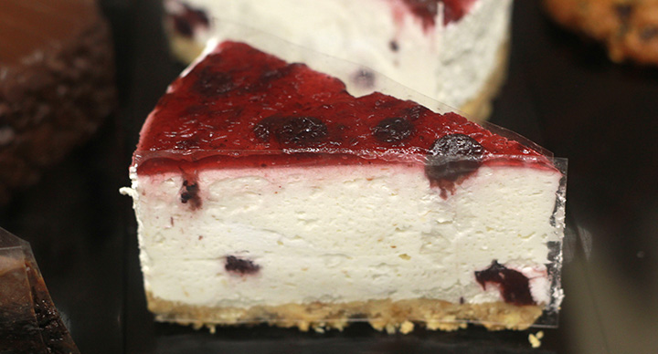 Blueberry Cheesecake at McCafe