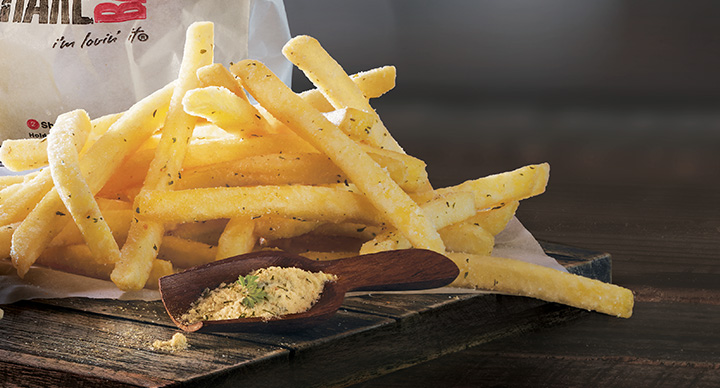 Cream and Onion French Fries