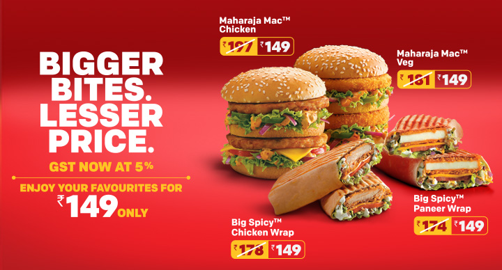 Now Enjoy Your Favourite Products At McDonald's At a Lesser Price! -  McDonald's India | McDonald's Blog