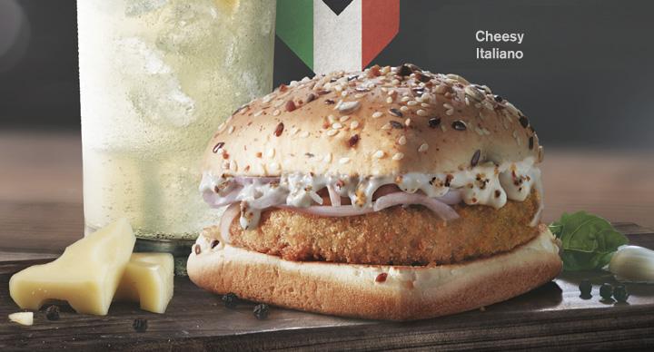 Cheesy Italiano Veg