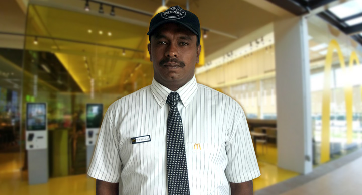 mcdonalds employee success story