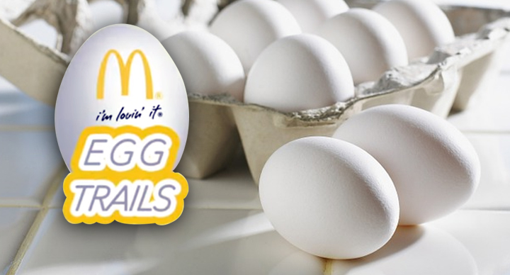 eggs trail mcdonalds India good quality