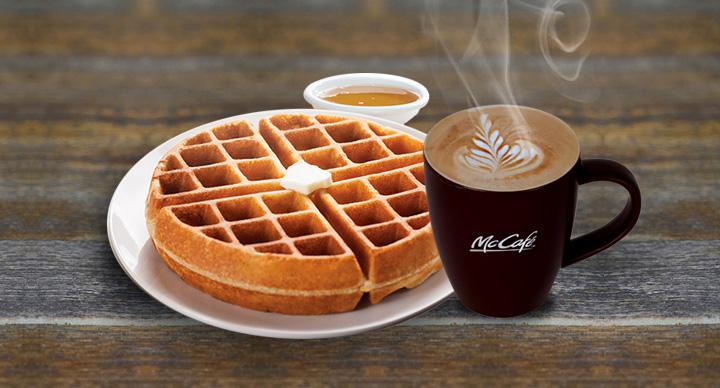 Waffles at McDonald's