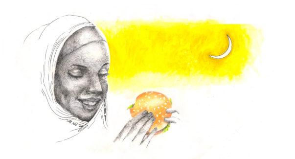 Ramzan Mubarak McDonald's