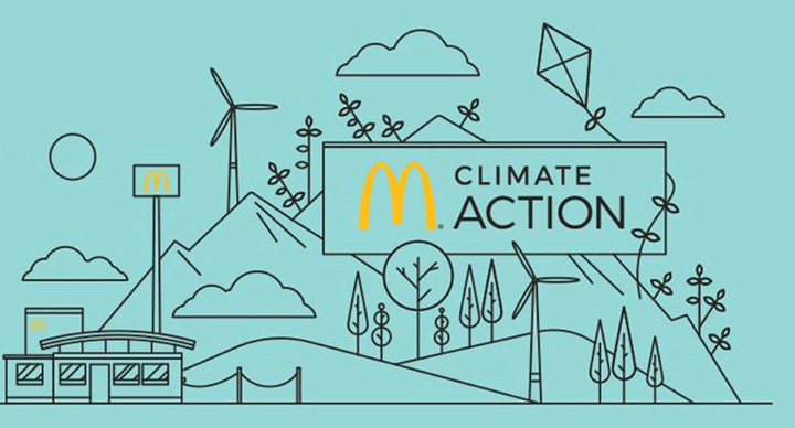McDonald's Global Take On Reducing Carbon Emissions