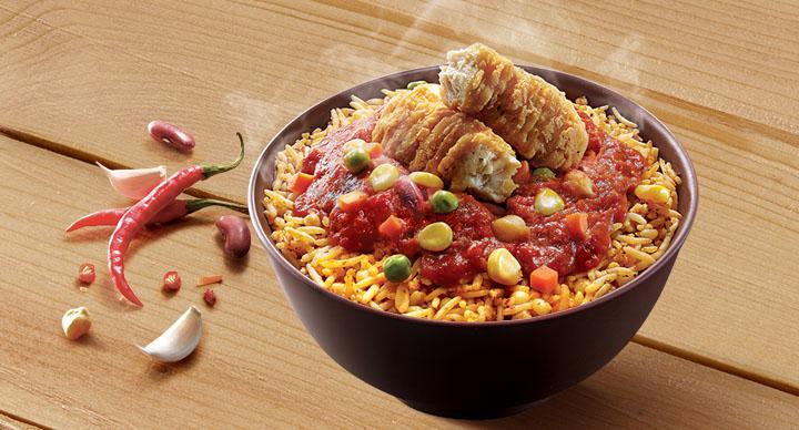 Spicy Rice Bowl at McDonalds