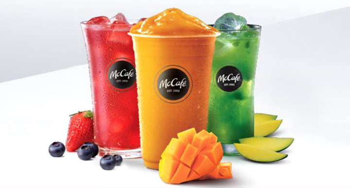 These McCafé Coolers Are More Than Just Pretty Drinks