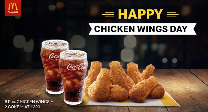 McDonald's Chicken Wing Day