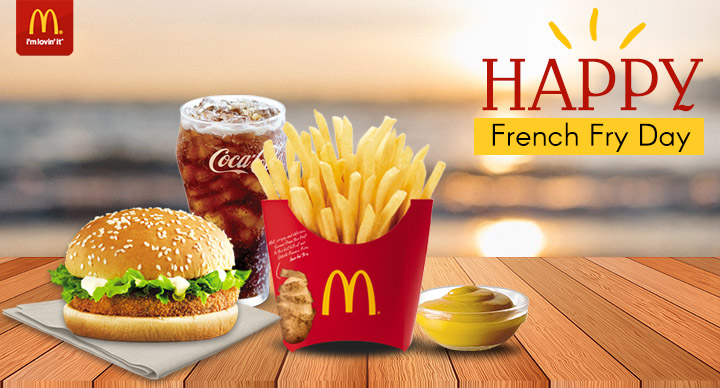 McDonald's French Fry Day
