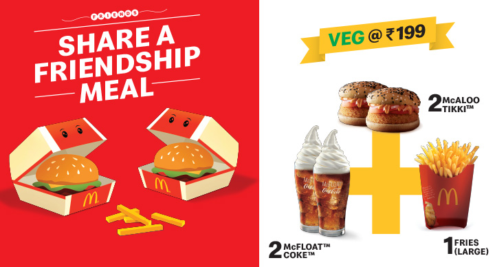 McDonald's Friendship Day Meal