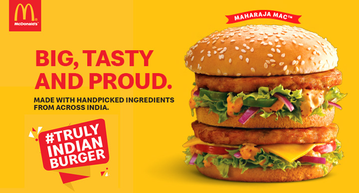 McDonald's Indian Burger