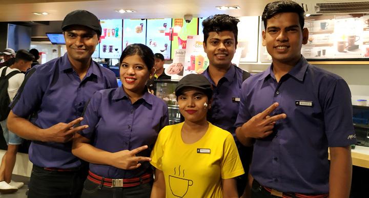 McCafe Barista India