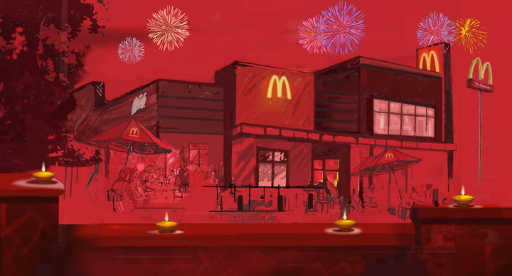 Happy Diwali - McDonald's India (South and West)